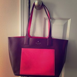 Kate Spade New York Leather Colorblock Tote